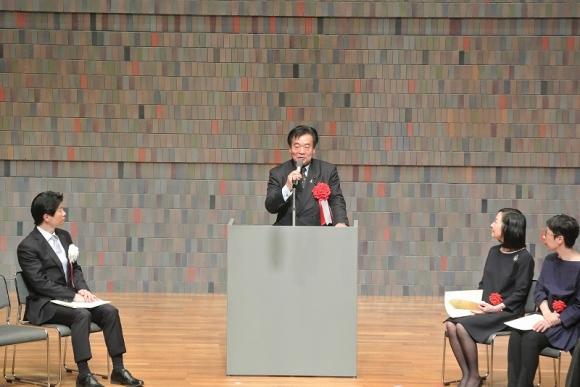H31.03.19_第14回岡山県「内田百聞文学賞」授賞式②
